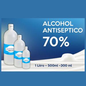 Alcohol Etílico Antiséptico al 70% x 5 litros