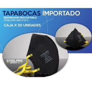 Tapabocas Termosellado N95 Steel Pro