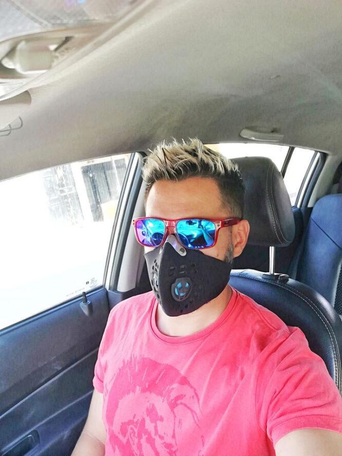 mascara neopreno
