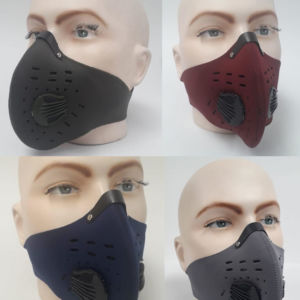 Kit x 5 Tapabocas Máscara Antipolución en Neopreno / Carbón Activado