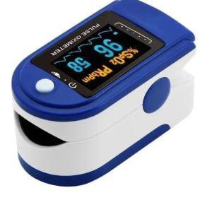 Oxímetro De Pulso Monitor De Saturación De Oxígeno y Frecuencia de Pulso