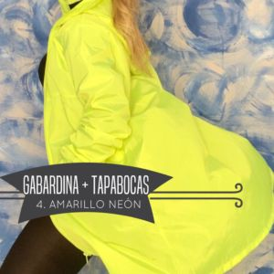 Kit Gabardina Antifluidos + Tapabocas