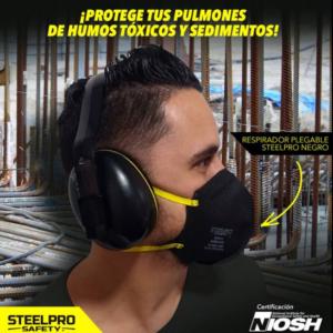 Kit x 3 Tapabocas Termosellado N95 Steel Pro