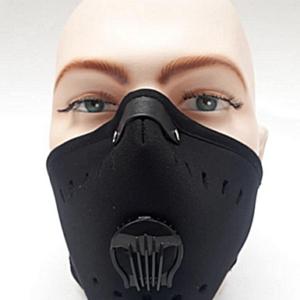 Tapabocas Moto Edition- Máscara Antipolución Neopreno/Carbón Activado