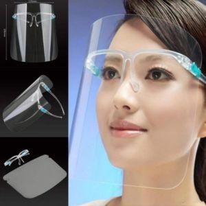 Máscara Protectora Facial Tipo Lentes