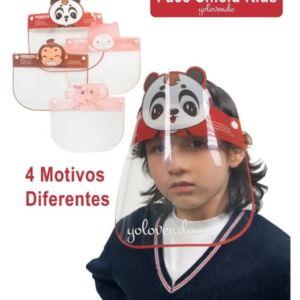 Face Shield Niños, Protectores faciales especializados para niños