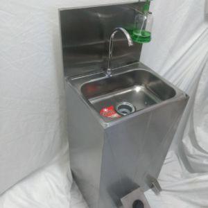 Lavamanos Standar con Dispeor de Jabón en Acero Inoxidable 304nsad