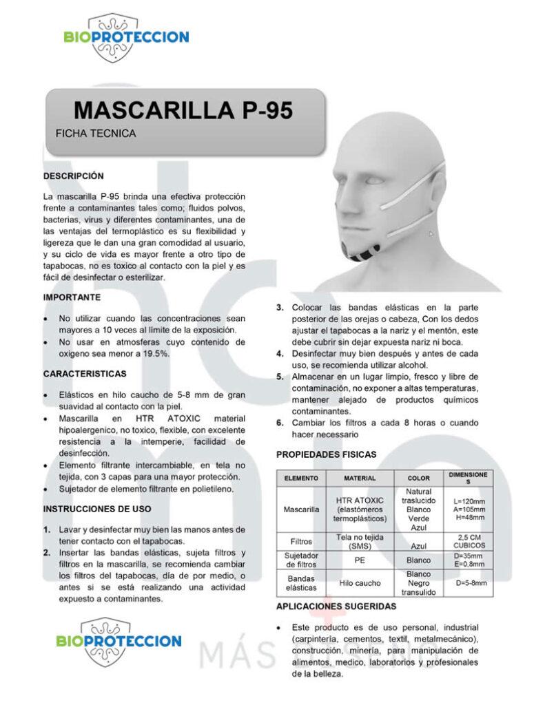 ficha tecnica p95 inclusivo