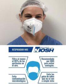 respiradores nitta niosh