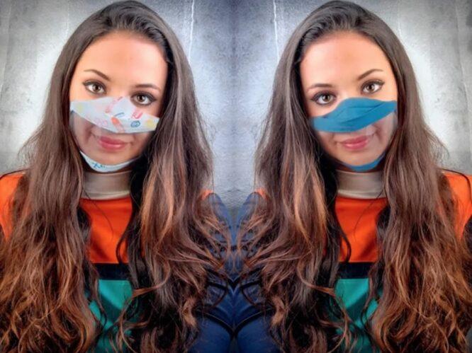 tapabocas inclusivos tela transparentes